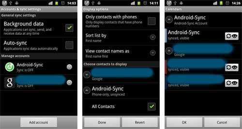 Keep It Local Keep It Safe! Sync Android and Outlook with a